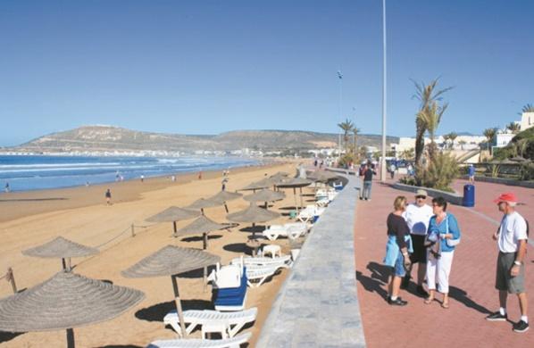 Les arrivées et nuitées touristiques en hausse à Agadir