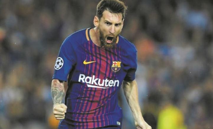 Messi corrige à lui seul la Juve