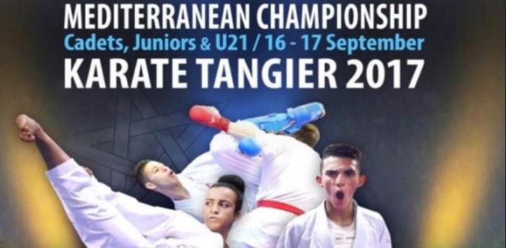 Participation massive au Championnat méditerranéen de karaté à Tanger