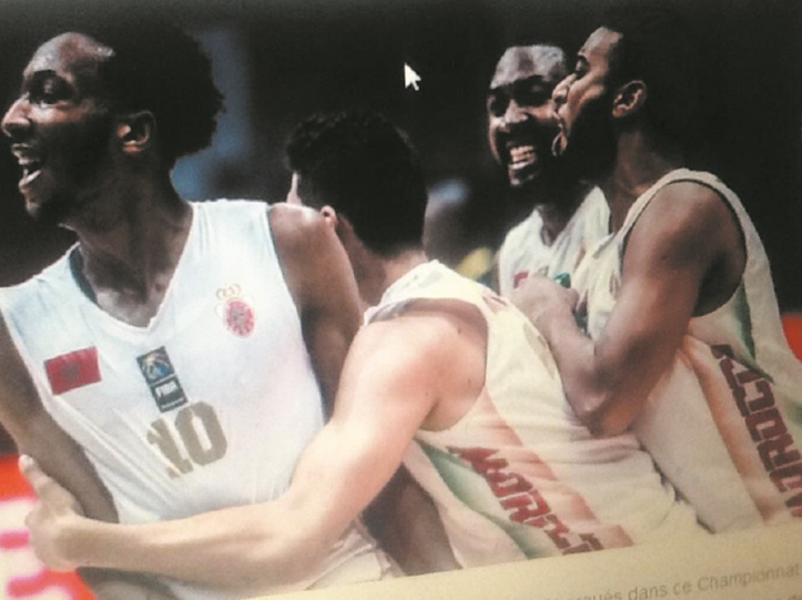 Le Cinq national dans le carré d'as de l'Afrobasket 2017