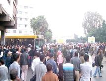 Manifestation pour un transport public de qualité