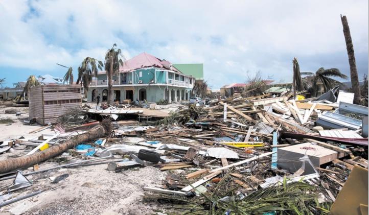 L'ouragan Maria, après Irma, balaie les Antilles