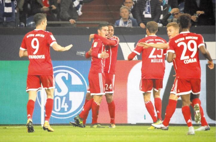 Le Bayern prend la tête de la Bundesliga