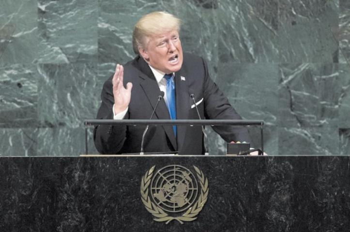 A l'ONU, Trump menace de détruire totalement la Corée du Nord