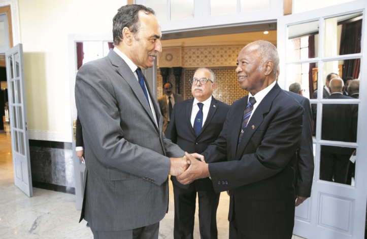 Echanges fructueux entre Habib El Malki et Honore Rakotomanana