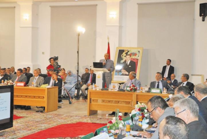 Le comité interministériel de pilotage et de suivi à Dakhla .  Mise en œuvre du développement des provinces du Sud