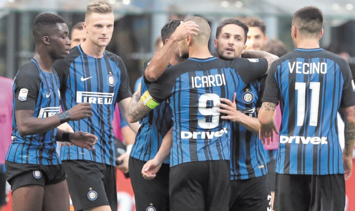 Calcio : L'Inter suit, l'AC Milan décroche