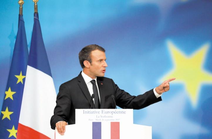 Macron fait état d'un consensus commun sur l'avenir de l'UE