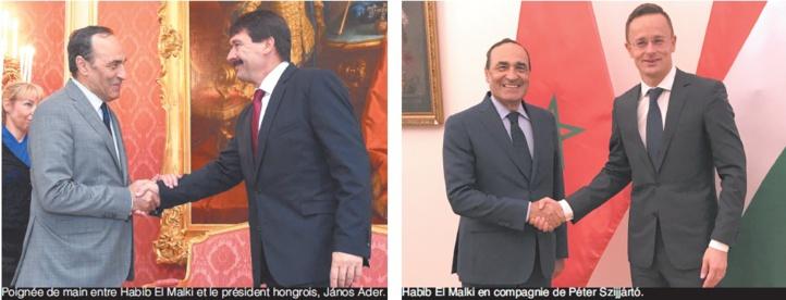 Echanges fructueux entre Habib El Malki et les dirigeants hongrois