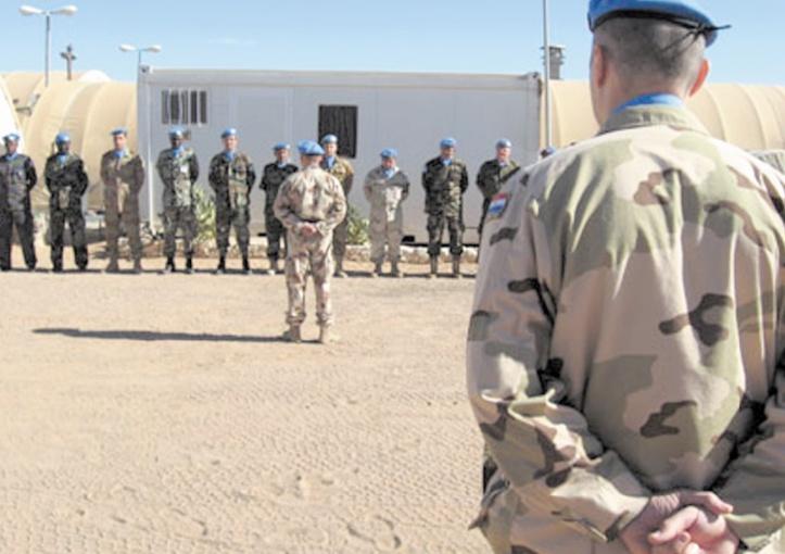 Les locaux de  la Minurso à Tifariti  sabotés par le Polisario
