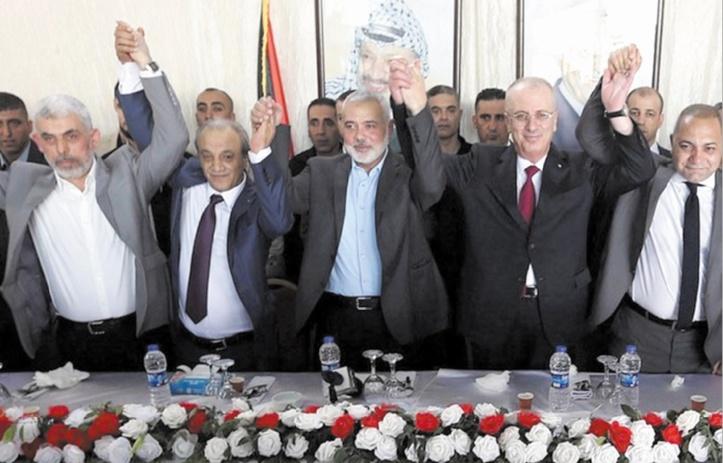 Le gouvernement palestinien se réunit à Gaza