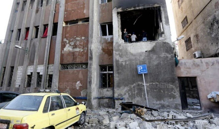 16 morts dans un attentat visant un commissariat à Damas