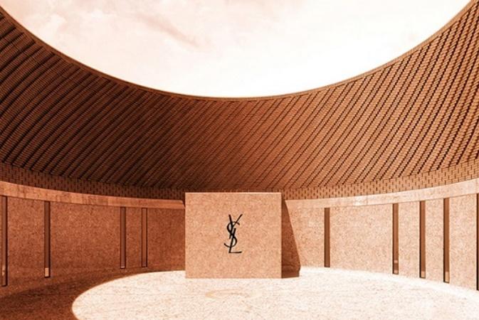 Le Musée Yves Saint Laurent de Marrakech retrace l'influence du Maroc sur les créations de ce couturier français