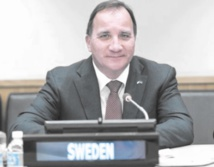 Le Premier ministre suédois Stefan Löfven.