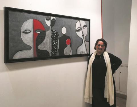 Lamia Belloul dévoile son regard sur l'Homme à Casablanca
