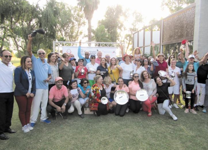 Présence remarquée des golfeuses marocaines à la Journée nationale de la femme