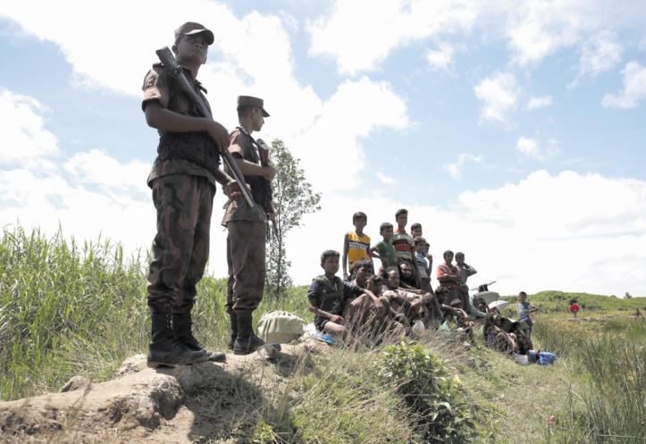La répression de l'armée vise à expulser les Rohingyas de Birmanie
