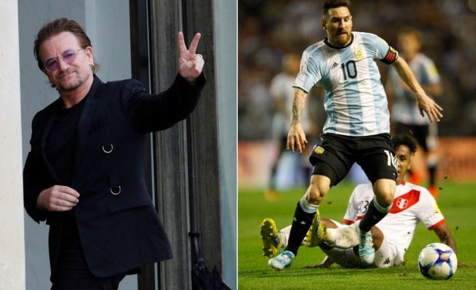 U2 a dû attendre que Messi termine son match pour jouer