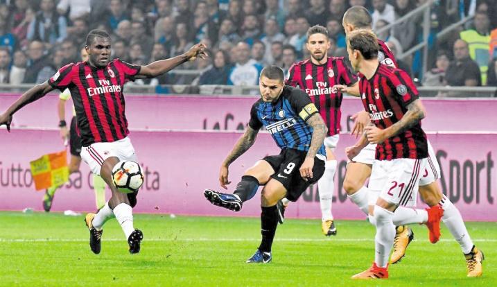 Calcio : L'Inter remporte le derby lombard