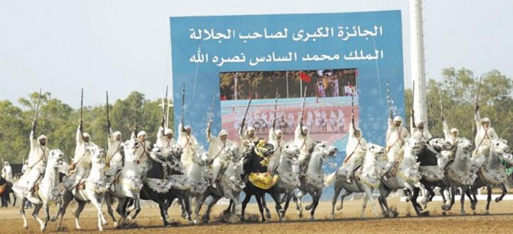Coup d'envoi du Grand Prix S.M le Roi Mohammed VI de tbourida