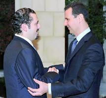 Consécration de la normalisation entre le Liban et la Syrie : Poignée de main historique entre Assad et Hariri