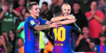 Le Barça continue  de gagner malgré la crise catalane