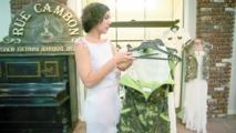 Look militaire et symboles rebelles inspirent la mode en Ukraine