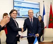 Signature à Fès d'une convention de coopération entre l'université Euromed et l'Institut français IDATE