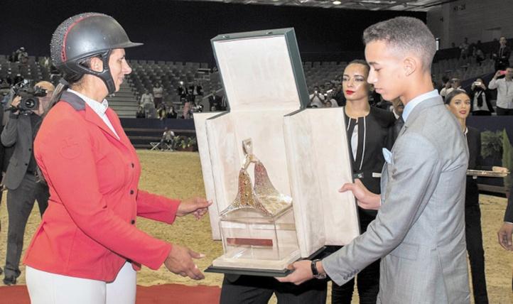Virginie Thonon s'adjuge le GP S.M le Roi Mohammed VI de saut d'obstacles