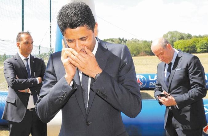 Corruption : Nasser Al-Khelaïfi entendu par la justice en Suisse