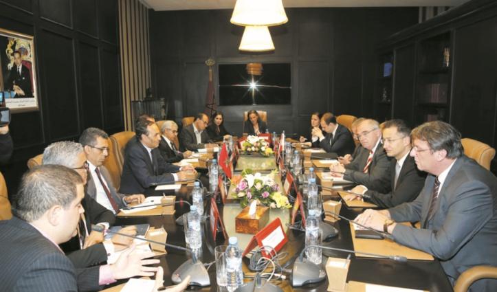 Habib El Malki s'entretient avec le ministre fédéral de la Justice et vice-chancelier de la République autrichienne