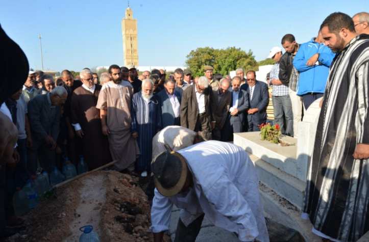 Emouvantes obsèques de Saïd Bounailate à Casablanca