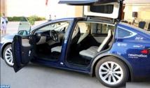 De Marrakech à Bonn, des voitures amies de l'environnement transmettent le flambeau de la COP