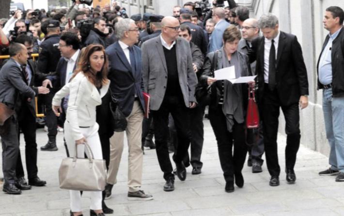 Report au 9 novembre de l'audition de députés indépendantistes catalans
