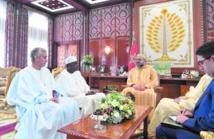 S.M le Roi reçoit le président de la Commission de l'UA