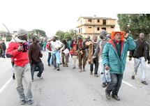 La ville de Rosarno mise à feu et à sang : Retour au calme en Italie après une chasse aux immigrés