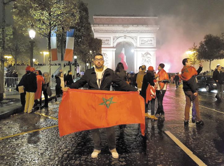 Une fête  marocaine à travers le monde