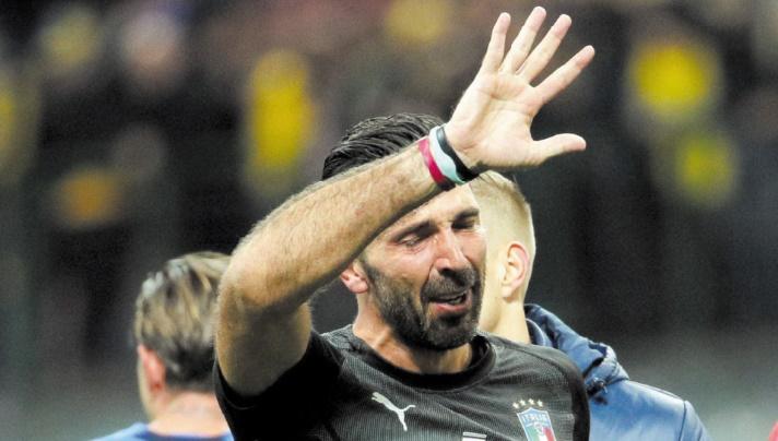 Buffon, les tristes adieux d'un monstre sacré