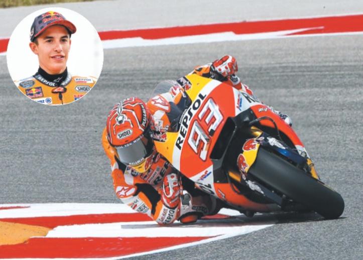 Marquez déjà parmi les plus grands du MotoGP