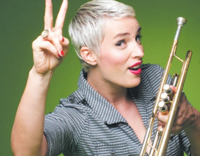 Maite Hontelé, la trompettiste de salsa venue du froid