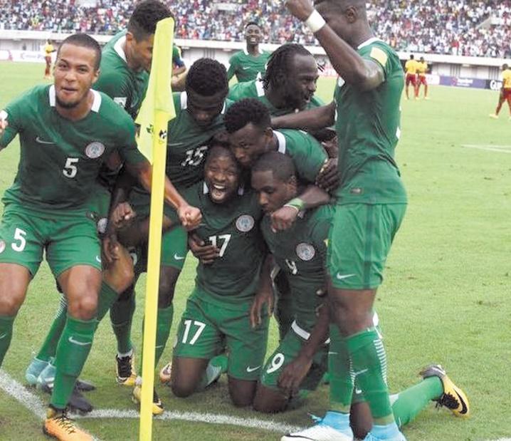 Mondial 2018: 2,4 millions de dollars de prime pour les joueurs  nigérians
