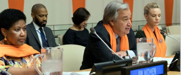 Message du Secrétaire général de l'ONU António Guterres