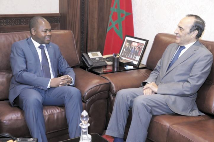 Entrevue entre Habib El Malki et le vice-président de l'Assemblée nationale du Togo