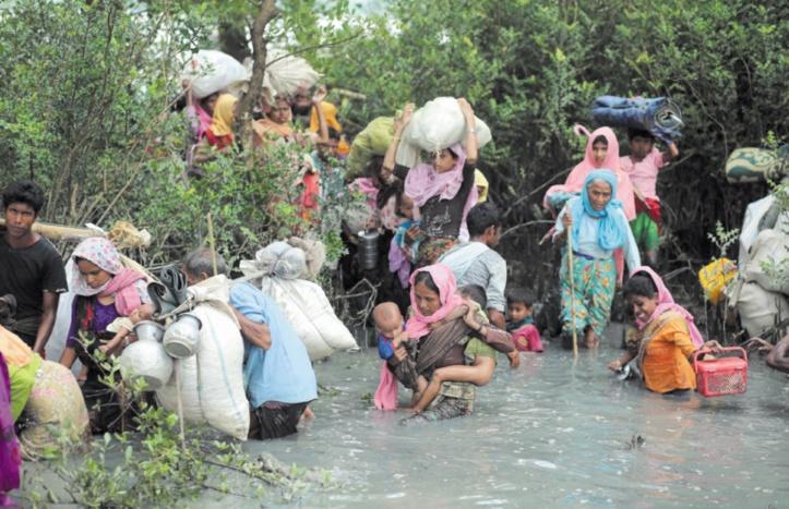 L'exode des Rohingyas de Birmanie se poursuit