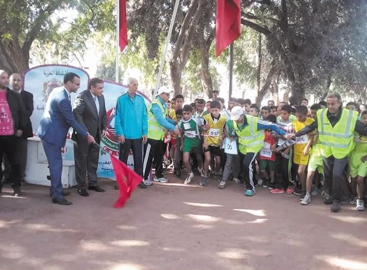 Championnat provincial de cross scolaire au parc Isesco