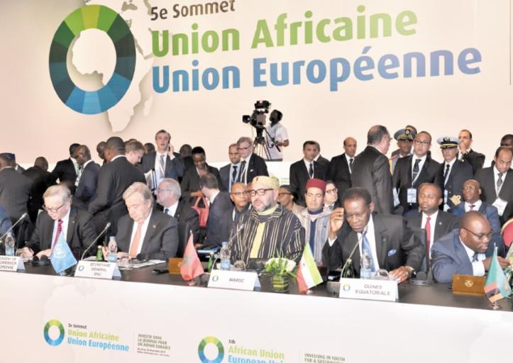 S.M le Roi au Sommet Union  africaine-Union européenne  : Le 21ème siècle sera celui des grands brassages