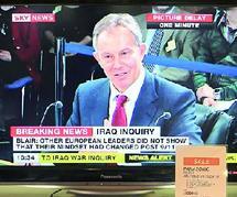 L'ex Premier ministre s'est expliqué sur l'engagement britannique en Irak : Tony Blair apporte son témoignage
