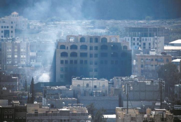Raids aériens sur Sanaa