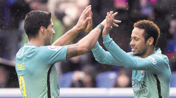 Suarez : Il est impensable que Neymar signe un jour au Real