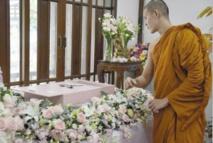 Funérailles bouddhistes pour les animaux en Thaïlande